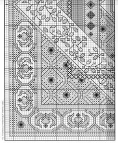 Blackwork cushion pattern part 3