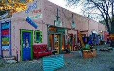 """Madrid, known initially as """"Coal Gulch,"""" sits on thirty square miles of hard and soft coal. Cerrillos Coal Company began mining around Christmas Light Displays, Christmas Lights, Best Restaurants In Albuquerque, New Mexico Santa Fe, New Mexico Style, Baseball Park, The Enchantments, Land Of Enchantment, Most Haunted"""