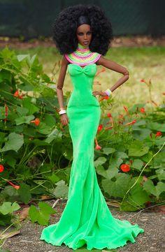 African Dolls, African American Dolls, Barbie Dress, Barbie Clothes, Diva Dolls, Dolls Dolls, Black Baby Dolls, Beautiful Barbie Dolls, Black Barbie