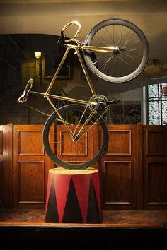 Cigno Fixed Bicycle on Paul Smith - Paris - www.bernardisrl.net