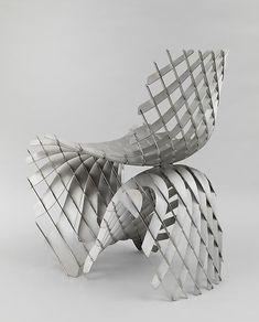 Joris Laarman Lab | Maker Chair (Mesh) | 2014 | Magnesium