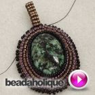 Tutorial - Videos: How to Bead Weave a Ladder Stitch Bail | Beadaholique