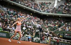 #Sharapova breezes on through to the Round of 16. Get her French Open look here: http://www.tennis-warehouse.com/player.html?ccode=SHARAPOVA