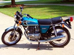 Honda CB360T   1975 CB360T My First Mode of Transportation. Purchased from my Brother in Law in '76 when I was 16. Rode it illegally as you couldn't legally ride anything over 250cc's in Illinois until you were 18 years old.