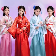 Chinese Girls Ancient Fairy Princess Dramaturgic Show Costume Robe Cospla Dress* Princess Aurora Dress, Princess Dress Kids, Baby Girl Princess, Princess Costumes, Dress Up Costumes, Girl Costumes, Frozen Dress Up, Kids Flower Girl Dresses, Unicorn Dress