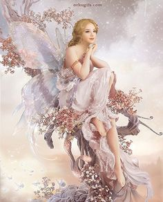 ≍ Nature's Fairy Nymphs ≍ magical elves, sprites, pixies and winged woodland faeries - Fairy Dragon, Fantasy, Fantasy Art, Mythical Creatures, Fairy Pictures, Angel, Fairy Art, Fairy Tales, Fantasy Girl