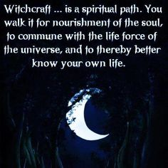 Credit should be given to Christopher Penczak for this quote - from his book The Inner Temple of Witchcraft