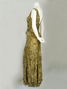 Evening gown 1930s