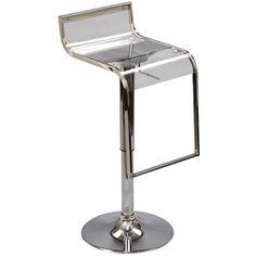 LEM Acrylic Bar Stool EEI-535