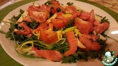 Салат из рукколы с лососем ингредиенты