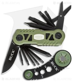 Buck Knives 738 Bow TRX Multi-Tool w/ Broadhead Wrench VPAK738GRS