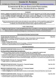 Adjunct Faculty Resume Teachers Resumes Httpwww.teachersresumes.au Our B .