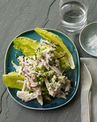 Smoked Mackerel Salad with Crunchy Vegetables Recipe on Food & Wine