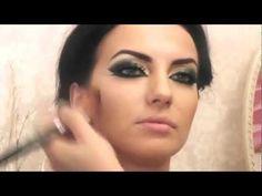 Egzotik Arap Makyajı Yapımı