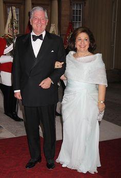 Crown Prince Alexander II of Yugoslavia and Princess Katarina of Yugoslavia  Picture: GETTY