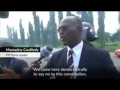 Ivorians protest constitution change