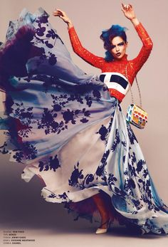 let's dance, full skirt. ukrainian l'officiel