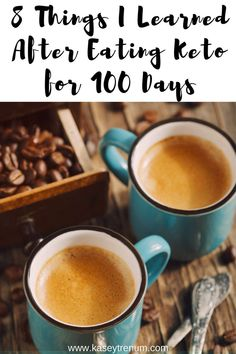 What Happened After 100 Days of Eating Keto. #ketodiet #kaseytrenum