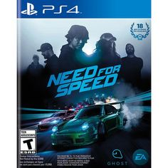 Need For Speed (Sony PlayStation DVD-Box) günstig kaufen Video Games Xbox, Xbox One Games, Ps4 Video, Playstation Games, Ps4 Games, Games Consoles, Nocturne, Need For Speed Pc, Videogames