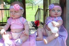 13-inch-zombie-twin-girls-reborn-berenguer-baby-doll-dead-Halloween-ooak-lot