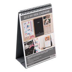 2013 DIY Desk Calendar - 2013 DIY Calendar - 2013 Calendars - Diaries & Calendars
