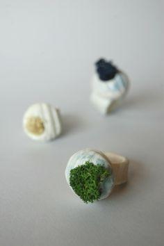 All is full of love - natura & arte da indossare con i gioielli di porcellana e licheni di Eleonora Ghilardi