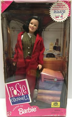 1999 Mattel Friend of Barbie Rosie O' Donnell Doll This item is NOT in Mint Condition and is in no way being described as Mint or even Near Mint. Our toys have not always lead the perfect life, nor ha Rosie Odonnell, Disney Dolls, All Kids, Got The Look, Vintage Toys, Fashion Dolls, Barbie, Mint, Peppermint