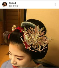 Kyoto, Fleurs Kanzashi, Japanese Hairstyle, Hair Ornaments, Flower Making, Japanese Art, Hair Styles, Geishas, Kimonos