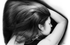 | Retrato chica carboncillo | Retratos Estela | Retratos Carbocillo | Estela | Retratos Valencia | http://joseantonioestela.blogspot.com Charcoal Portrait