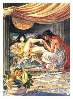 Aphrodite 1 by Milo Manara | Sex and porn comics in English | Zizki