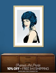 Discover «Ramona Flowers», Exclusive Edition Fine Art Print by Paola Morpheus - From 29€ - Curioos