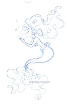 My Disney Drawing - Disney: Mermaid: Disney Sketch: Disney Princess . - My Disney Drawing – Disney: Mermaid: Disney Sketch: Disney Princess: Ariel: Little Mee - Mermaid Sketch, Mermaid Drawings, Mermaid Tattoos, Mermaid Art, Mermaid Disney, Anime Mermaid, Tinkerbell Disney, Watercolor Mermaid, Mermaid Drawing Tutorial