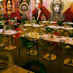 """""""Home to regular artsy dinners and a sweet happy hour, Wynwood Kitchen & Bar is where the cool crowd migrates."""" Wynwood Kitchen & Bar in Miami, FL"""