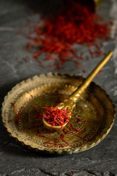 Saffron * Cultural aesthetics to match the origins of the food