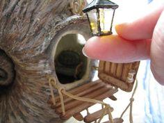 40 Magical DIY Fairy Garden Ideas Fairy Furniture, Gnome Garden, Mini Fairy Garden, Fairy Garden Houses, Fairy Garden Accessories, Miniature Fairy Gardens, Mini Gardens, Baie Dankie, Fairy Homes
