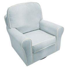swivel glider chair - baby blue - Target $379.99