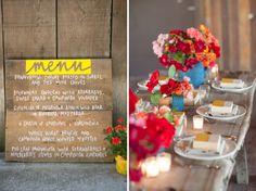 Eco chic wedding inspiration / Larissa Cleveland Photography