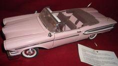 1958 EDSEL CITATION CONVERTIBLE FRANKLIN MINT DANBURY MINT 1/24 Scale #FranklinMint #