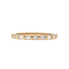 D-H-Jewelers-Baguette-Diamond-Half-Eternity-Band