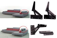 Sofa Bed Pillow Bedding Home Headrest Adjustable Angle Mechanism Hinge Hardware   Home & Garden, Furniture, Furniture Parts & Accessories   eBay!