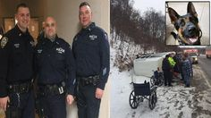 https://www.pinterest.com/jjerome958/2the-philadelphia-editor-2016-edition/ NYPD Officers Traveling to Memorial for Fallen K-9 Rescue Woman