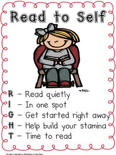 Read to Self poster