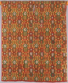 Eight-Pointed Star Tunic Date: 1460–1540 Geography: Peru Culture: Inca Medium: Camelid hair, cotton Accession Number: 33.149.100