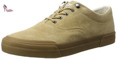 Tommy Hilfiger Y2285armouth 1b, Sneaker Bas Cou Homme, Beige (Cashmere), 45 EU - Chaussures tommy hilfiger (*Partner-Link)