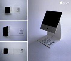 """""""Imagine"""" — Carte de visite d'un apple addict."""