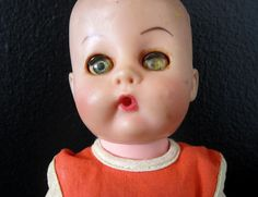 Vintage 1960s Doll by TheGreenClock on Etsy