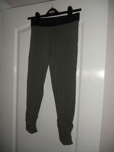 BRAND NEW GIRLS MARKS & SPENCERS LEGGINGS IN SAGE COLOUR AGE 12 YEARS | eBay