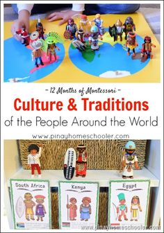 culture and traditions from around the world. The dolls come with information about that culture
