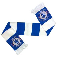 CHELSEA Jaquard Knit Scarf. Official Licensed Chelsea football scarf. FREE DELIVERY ON ALL OF OUR GIFTS