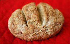 Crusty boule gluten-free bread